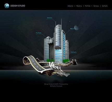Создание дизайна сайта html