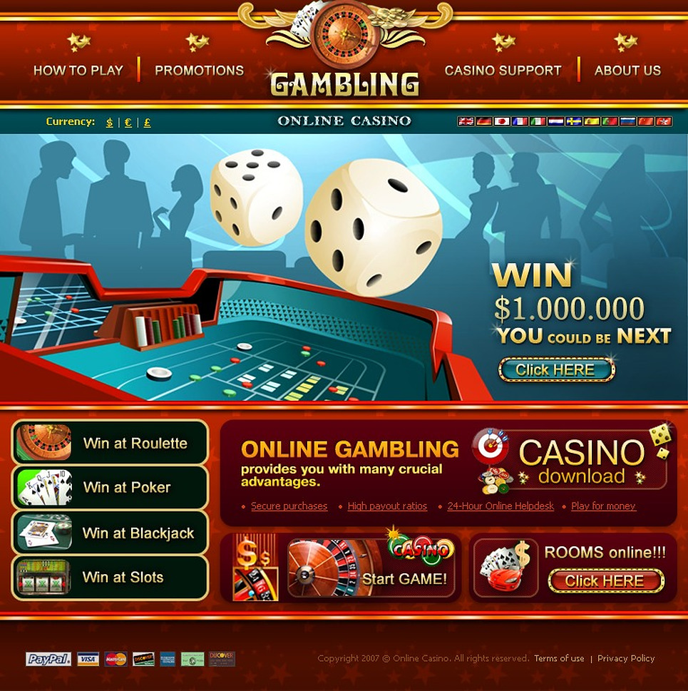 make online casino website