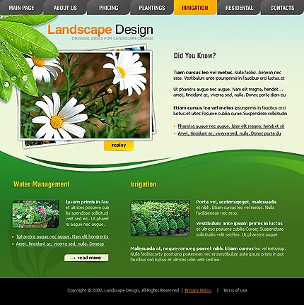 Website Template #15651