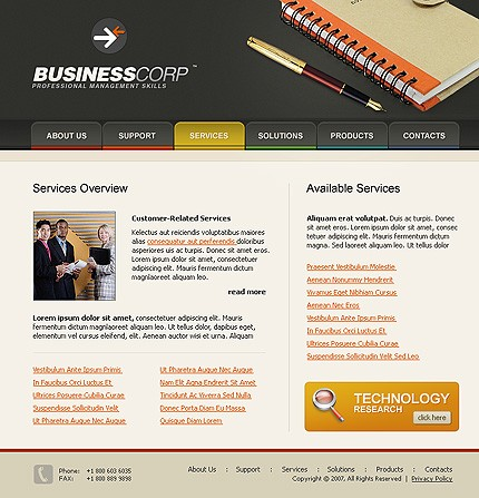 Website Template #15749