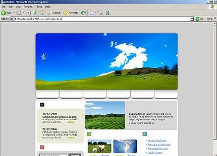 Website Template #15756