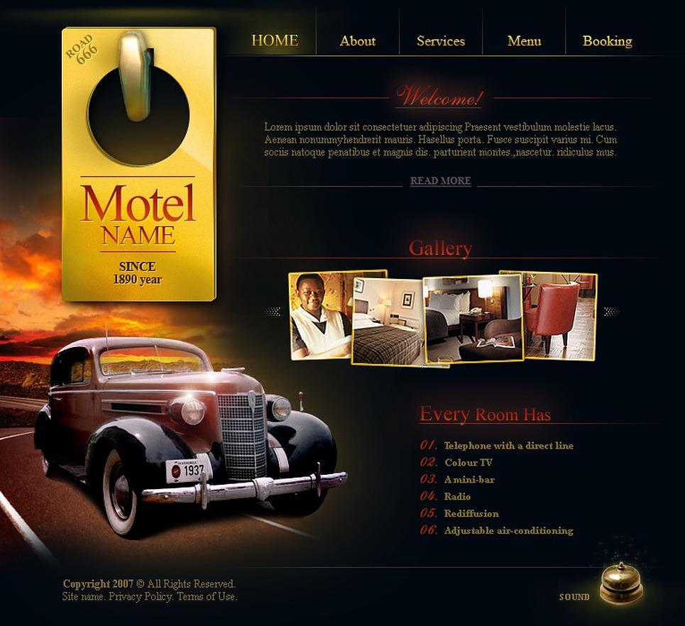 Motel Flash Template New Screenshots BIG