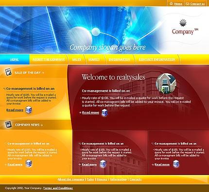 60 макетов сайта в формате PSD + кнопки и элементы для сайта (включая флеш) .