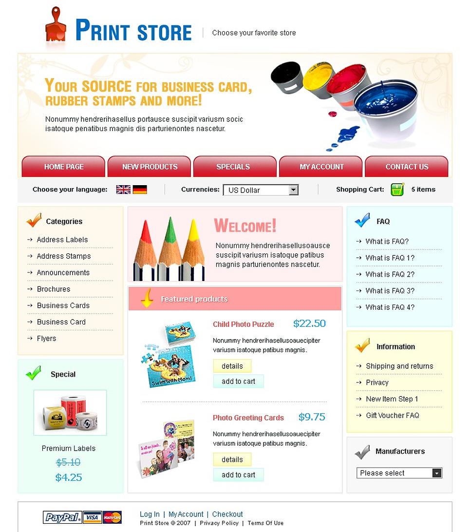 print shop cre loaded template 16040. Black Bedroom Furniture Sets. Home Design Ideas