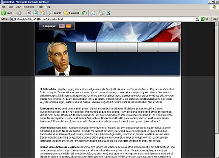 Website Template #16057