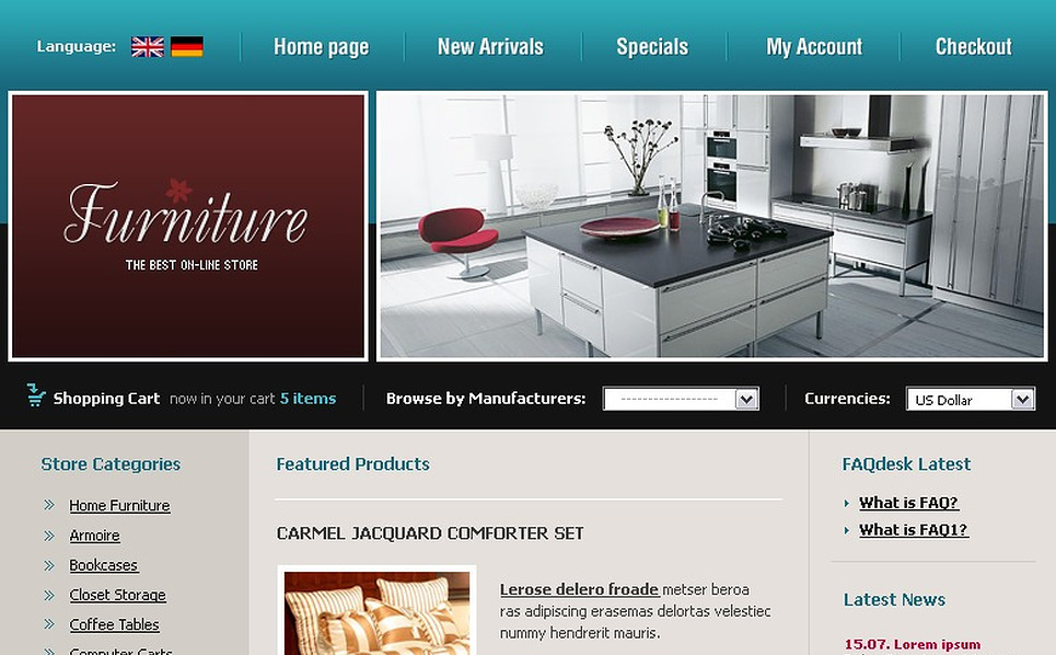 Furniture CRE Loaded Template New Screenshots BIG