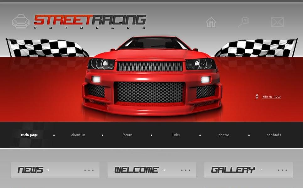 Car Racing Website Template New Screenshots BIG