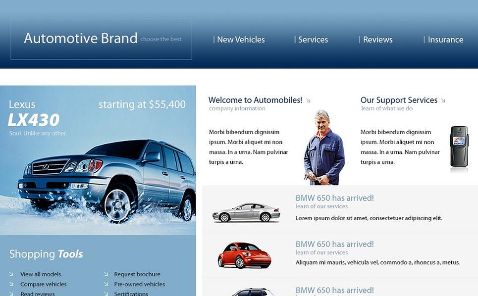 Car PHP-Nuke Template New Screenshots BIG
