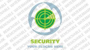 Security Logo Template vlogo