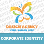 Corporate identity template #16856 by Logann