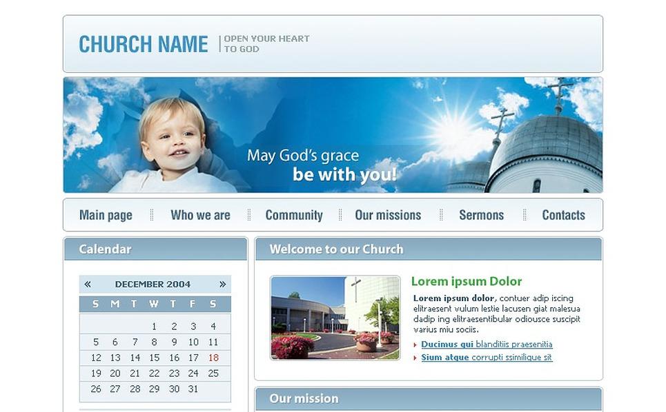 Christian SWiSH Template New Screenshots BIG