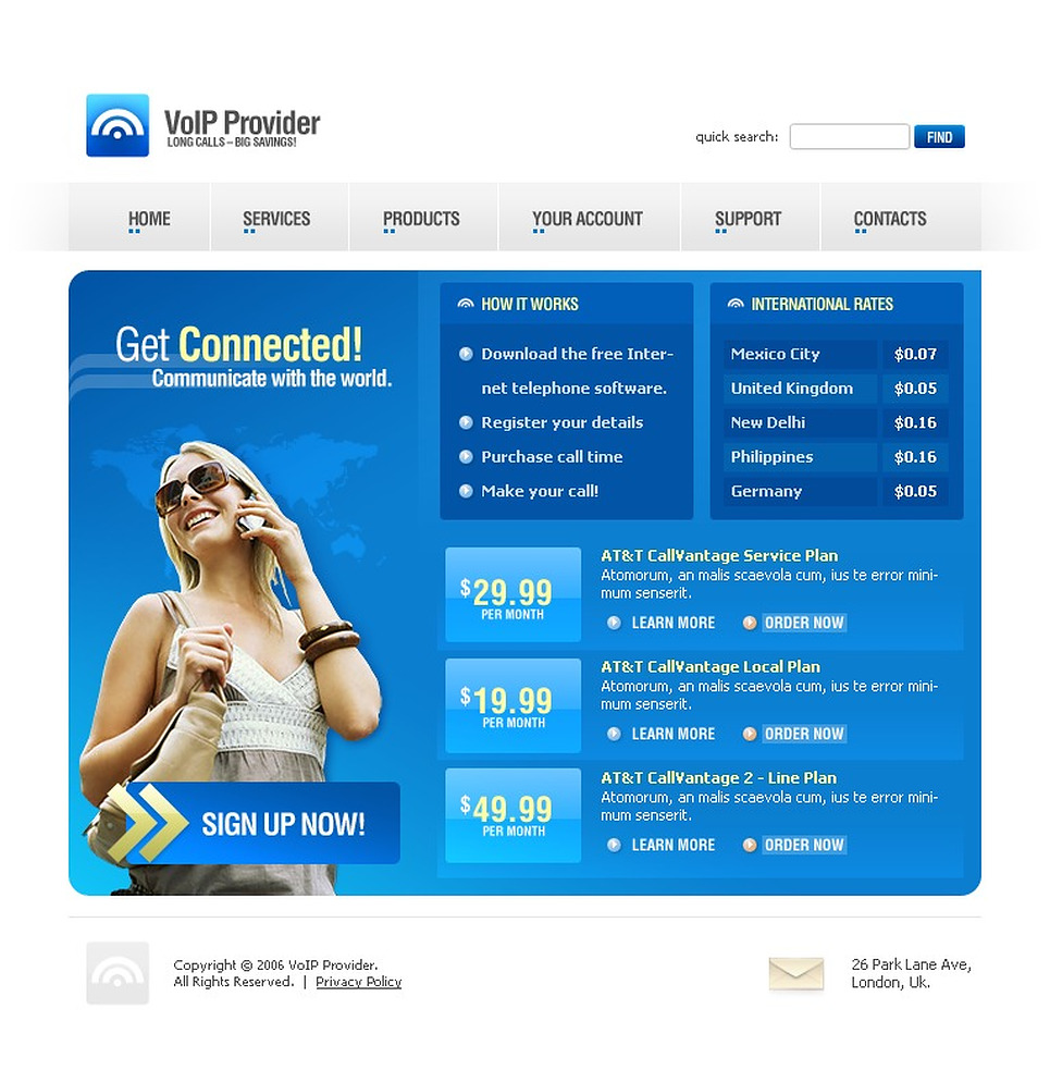 VOIP SWiSH Template New Screenshots BIG