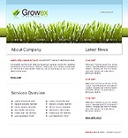 Website template #16923 by Cowboy