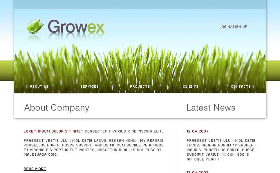 Neutral Website Template New Screenshots BIG