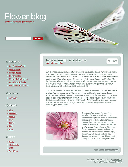 Website Template #16967