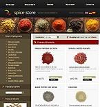 Шаблоны.  Spice Shop Templates.  Цены.  Контакты.