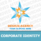 Corporate identity template #17084 by Logann