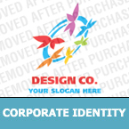 Corporate identity template #17087 by Logann