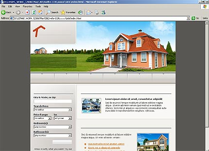 Real Property Management on Swish Templates   Template  17397   Real Estate Agency Services House