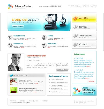Website Template #17608