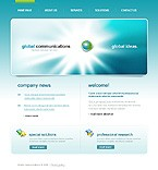 Website template #17630 by Delta