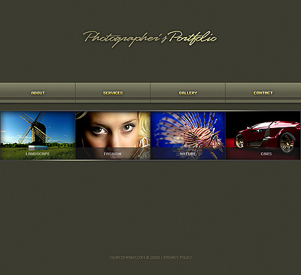 Website Template #18005
