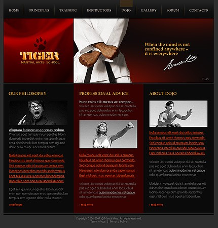 Website Template #18137