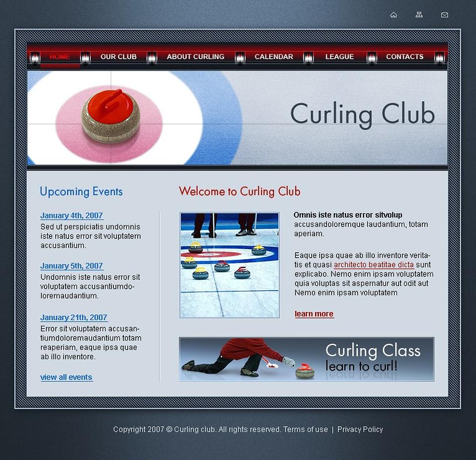 Curling SWiSH Template New Screenshots BIG