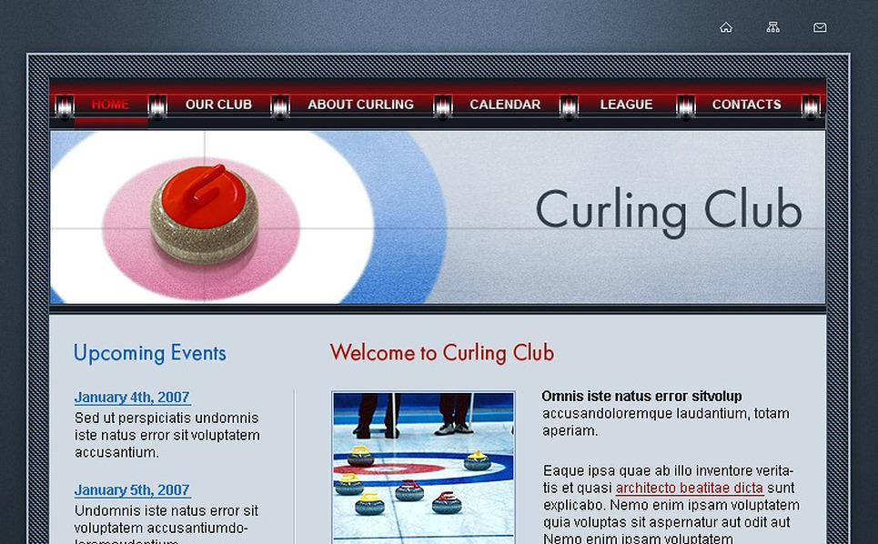 Curling SWiSH Template New Screenshots BIG