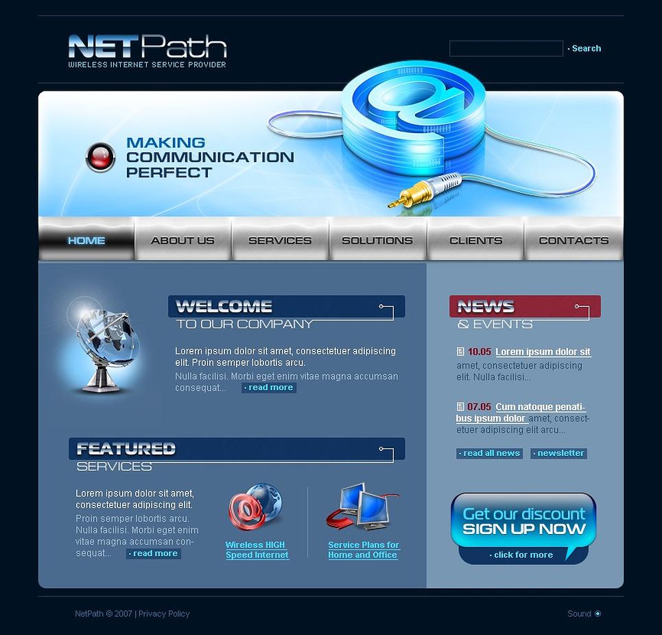 ISP Flash Template New Screenshots BIG