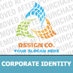 Corporate identity template #18352 by Logann