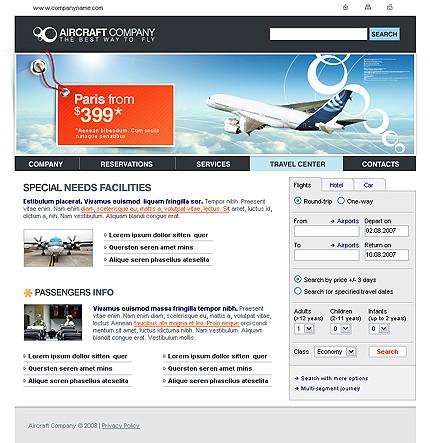 airline tickets website