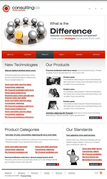 Website Template #18517
