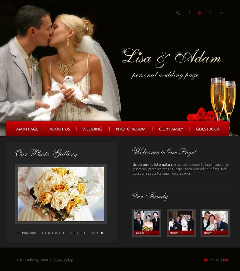 Wedding Album Flash Template New Screenshots BIG