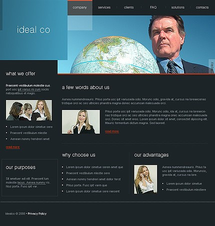 Website Template #18883