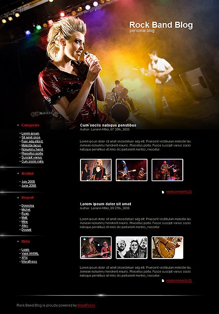 Website Template #18978