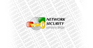 Information Security Logo Template vlogo