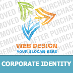 Corporate identity template #19115 by Logann