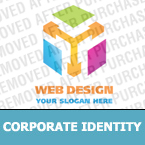 Corporate identity template #19119 by Logann