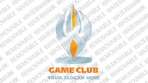 Game Portal Logo Template vlogo
