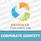 Corporate identity template #19421 by Logann
