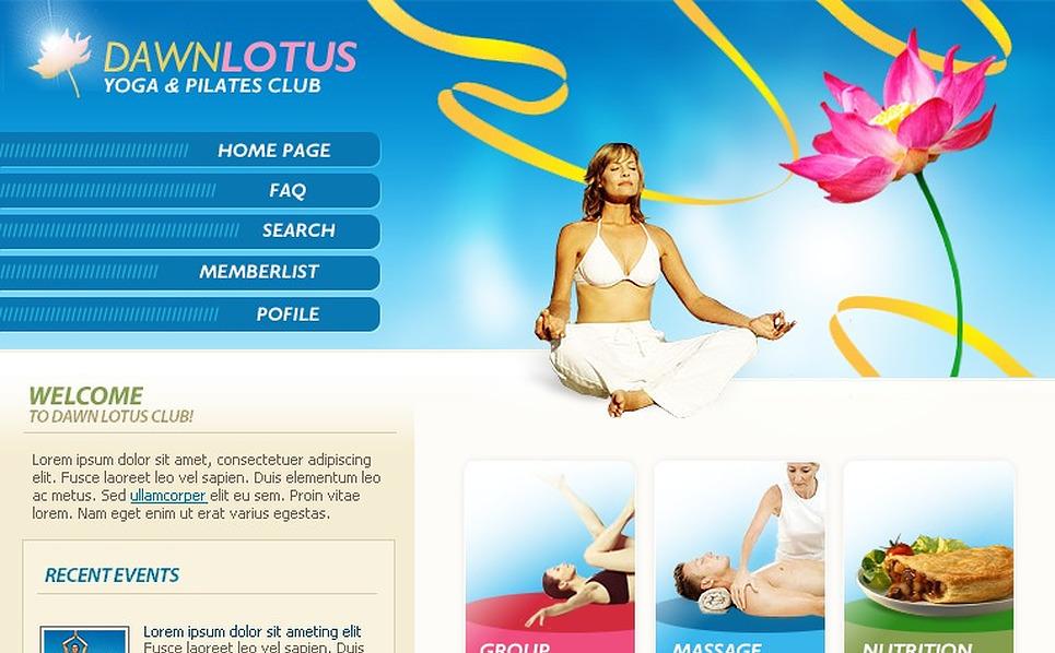 Yoga PhpBB Template New Screenshots BIG