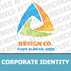 Corporate identity template #19570 by Logann