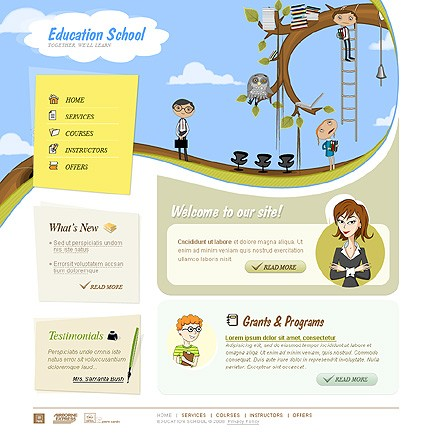 Website Template #19665
