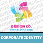 Corporate identity template #19840 by Logann