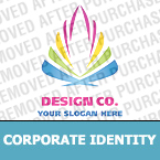 Corporate identity template #19884 by Logann