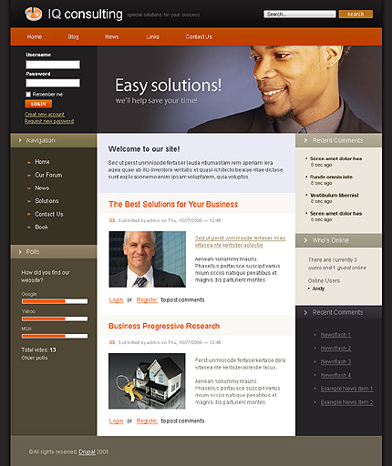 Website Template #19915