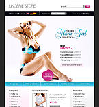 osCommerce template #20024 by Nessy