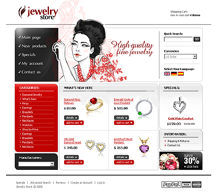 Website Template #20099