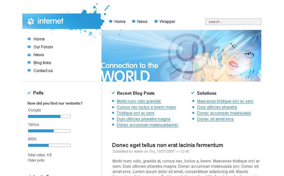 ISP Drupal Template New Screenshots BIG